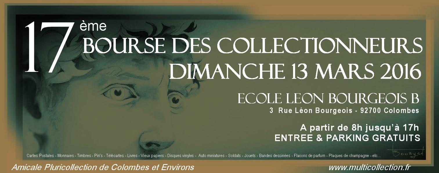 Bourse multicollection 13 mars 2016 colombes